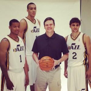 Rudy-Gobert-Trey-Burke-Utah-Jazz