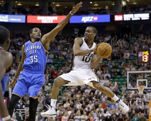 The Triple Team: Three Thoughts on Jazz vs. Thunder 10-30-2013