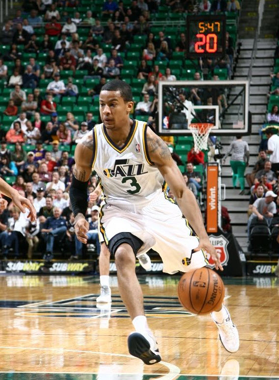 The Jazz will want to see more from young potential starts like Trey Burke before they decide to deal. (Photo by Melissa Majchrzak/NBAE via Getty Images)