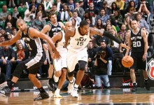 The Triple Team: Three Thoughts on Jazz vs. Spurs 11/15/2013
