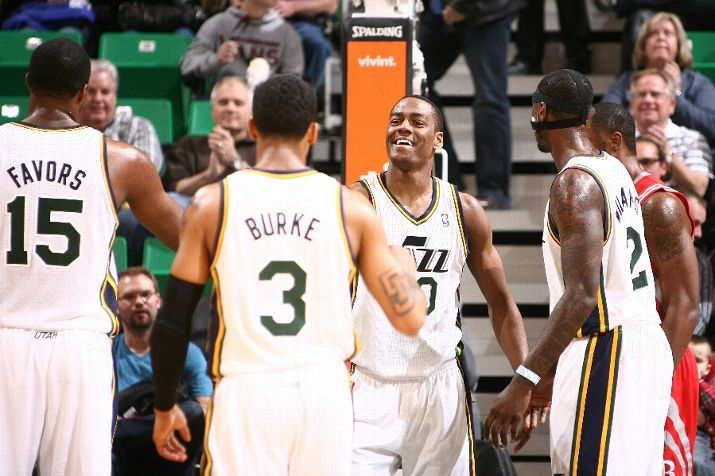 In the last 10 games, the Jazz have started to come together. Photo by Melissa Majchrzak/NBAE via Getty Images