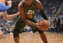 A Per Quarter Profile of Derrick Favors