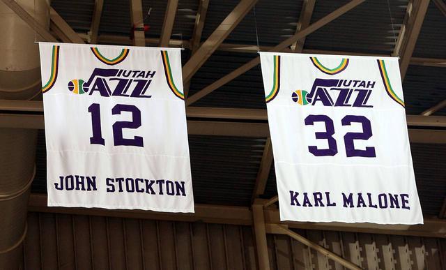 Utah Jazz Retired Jersey Numbers