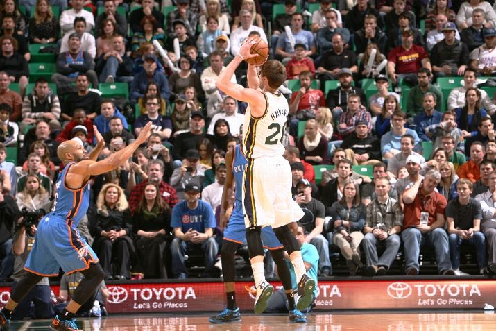 The Triple Team: Three Thoughts on Jazz vs. Thunder 1/7/2014