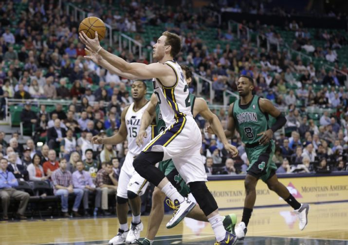 The Triple Team: Three Thoughts on Jazz vs. Celtics 2/24/2014