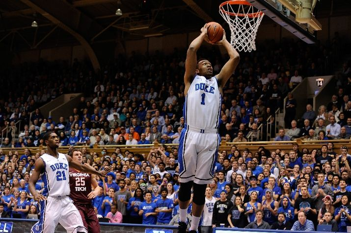Jabari Parker can dunk. But do the stats show he can be a star? (Photo by Grant Halverson/Getty Images)