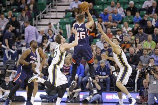 The Triple Team: Three Thoughts on Jazz vs. Hawks 3/10/2014