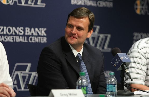 GM Dennis Lindsey spoke with SCH and other media about a pivotal offseason. (Getty Images)