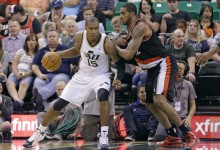 The Triple Team: Three Thoughts on Jazz vs. Trailblazers 4/11/2014