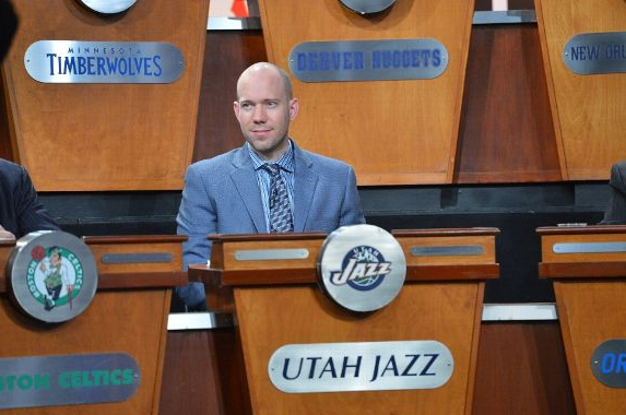 Jazz rep Bryan Miller wanted to make history on Tuesday. (Getty Images)