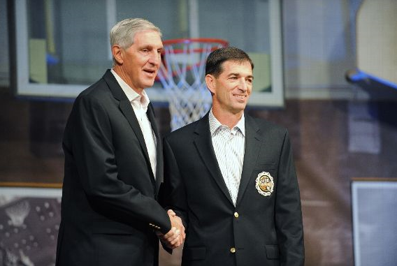 Former Jazz coach Jerry Sloan's former pupil, John Stockton, may be interested in his old seat. (Getty Images)
