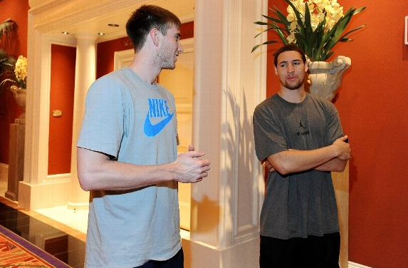 Do Team USA mates Hayward and Thompson really have similar games? (Getty Images)