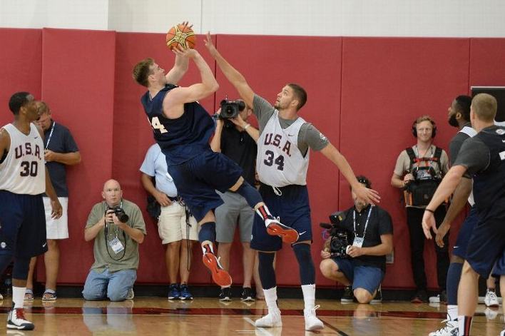 Hayward hopes to lock up a Team USA spot. (Photo by Andrew D. Bernstein/NBAE via Getty Images)