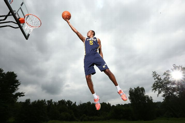 Rodney Hood was a big acquisition for the Jazz this offseason. (Photo by Nathaniel S. Butler/NBAE via Getty Images)