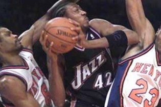 What If: the Utah Jazz had kept Donyell Marshall?