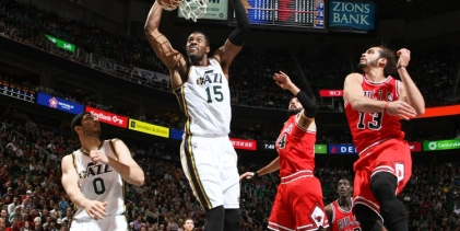The Triple Team: Three Thoughts on Jazz vs. Bulls 11/24/2014