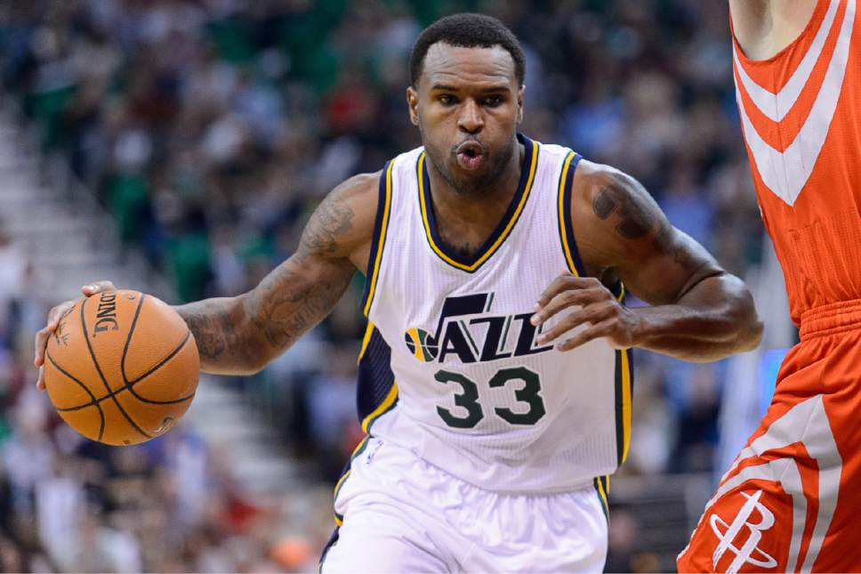 Could Trevor Booker be on the move to help shore up depth? (Trent Nelson | The Salt Lake Tribune)