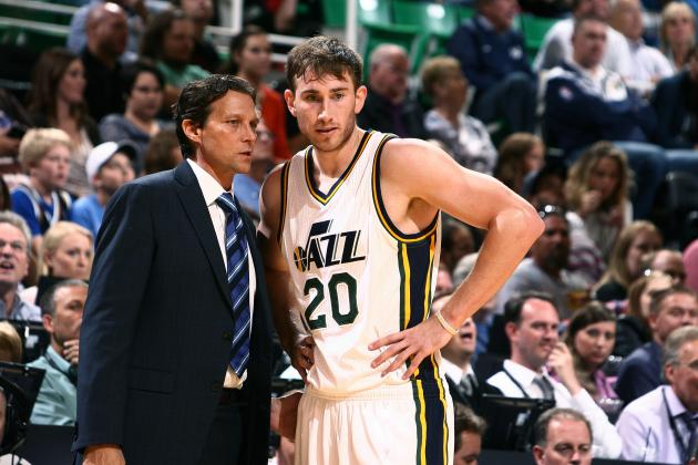 Quin Snyder, always the teacher, has been a breath of fresh air (Melissa Majchrzak/Getty Images)