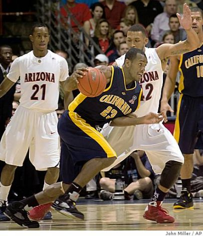 Newest Utah Jazz guard Patrick Christopher, during his time at  Cal (John Miller, AP Photo)