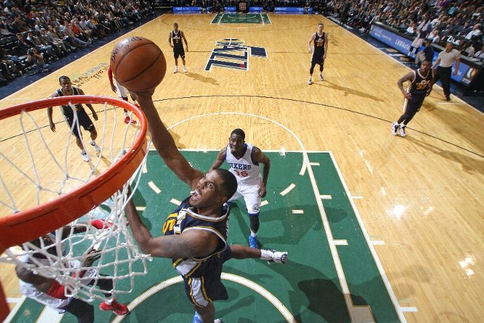 Favors dominates in this second installment of the game ball awards. (Photo by Melissa Majchrzak/NBAE via Getty Images)