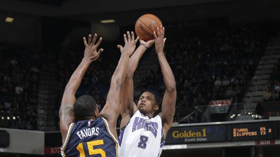 Rudy Gay was the best player on the court Monday (Rocky Widner/NBAE via Getty Images)