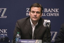 With Alec Burks Out For Season, Dennis Lindsey Speaks