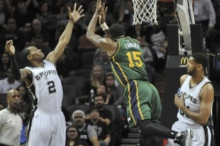 The Triple Team: Three Thoughts on Utah Jazz @ San Antonio Spurs 1/18/2015