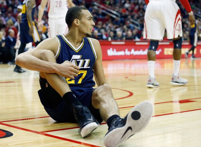 If recent results are any indication, we may see less and less of Gobert sitting.  (Photo by Scott Halleran/Getty Images)