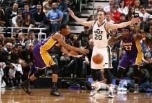 The Triple Team: Three Thoughts on Utah Jazz vs. Los Angeles Lakers 1/16/2015