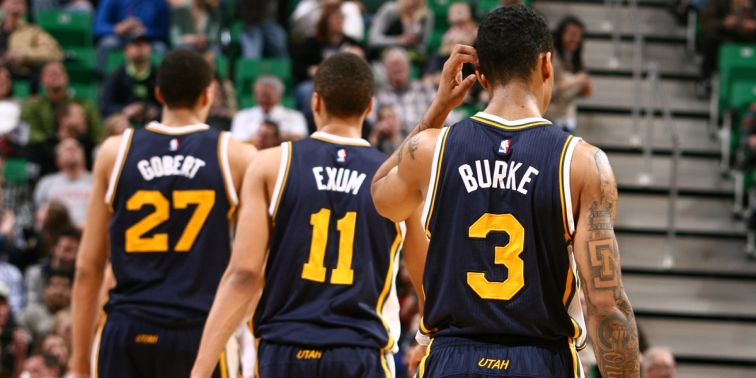 Rudy Gober, Dante Exum and Trey Burke will represent the Utah Jazz at All-Star Weekend (Melissa Majchrzak/NBAE/Getty Images)