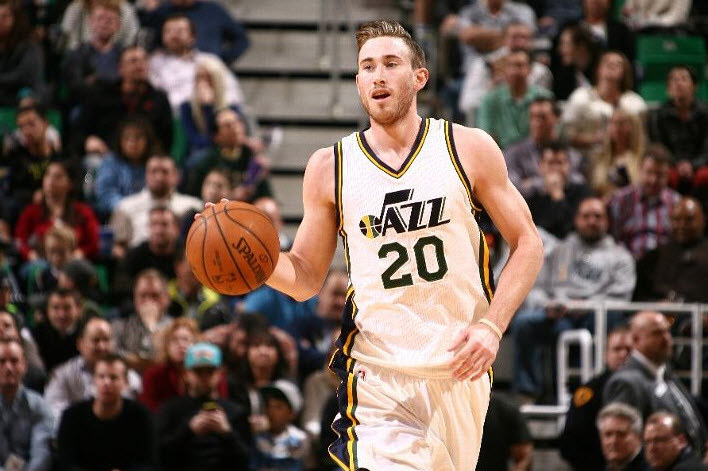 Hayward is playing the best ball of his career -- and has the game balls to prove it. (Photo by Melissa Majchrzak/NBAE via Getty Images)