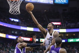 Derrick Favors' Inspired Performance, and Player Grades for Jazz-Kings 2/7/2015