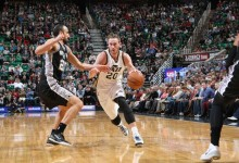 Gordon Hayward's Subtle Excellence, and Player Grades for Spurs @ Jazz 2/23/15