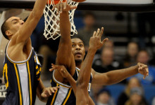 Derrick Favors and Rudy Gobert: An Elite NBA Frontcourt, Right Now