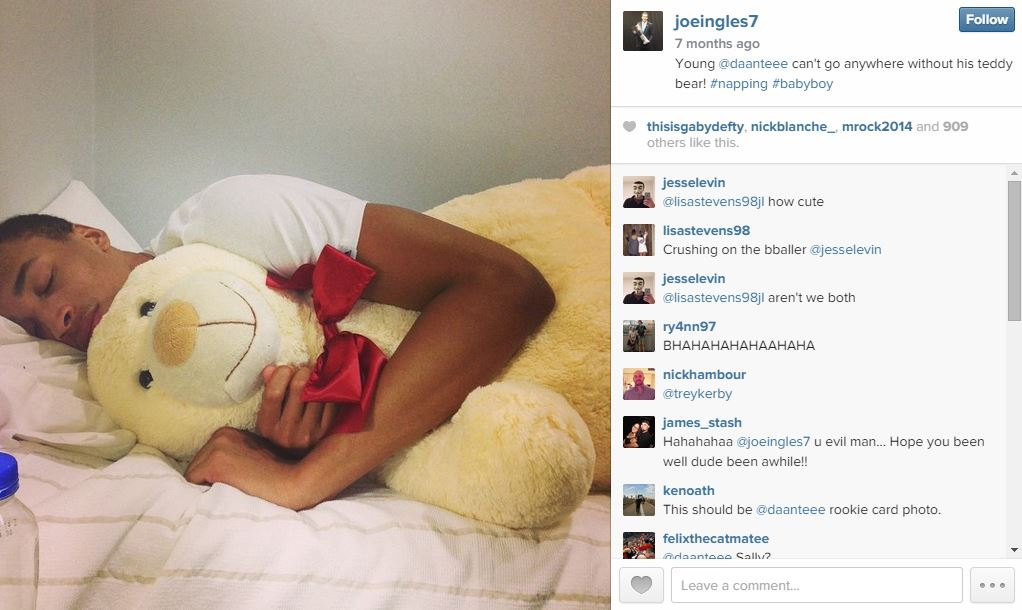 Dante Exum - Teddy Bear