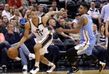 Dante Exum's Growing Comfort, Plus Player Grades for Nuggets @ Jazz 4/1/15