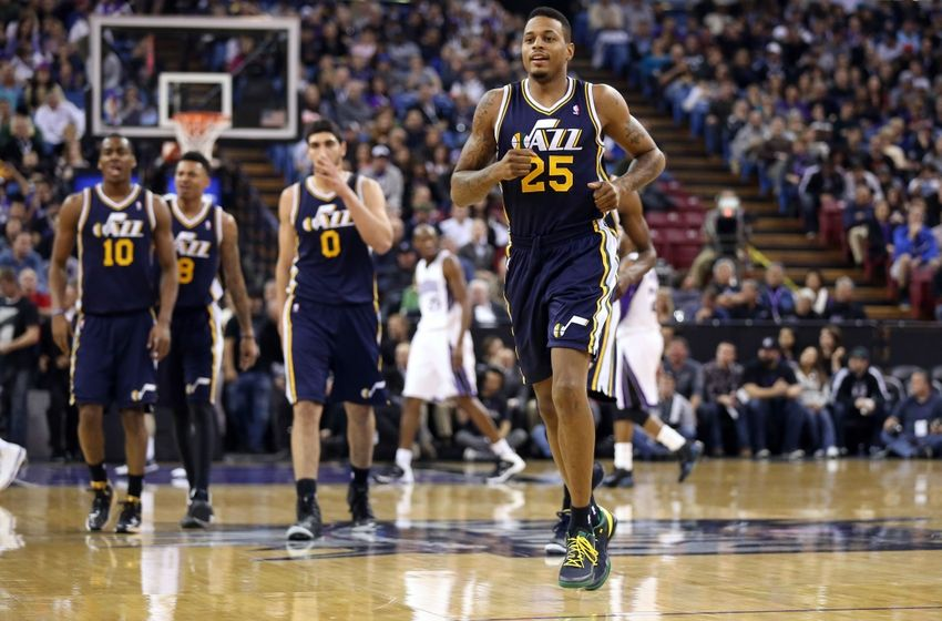 9e1393e37cbe Former Jazz guard Brandon Rush is now officially an NBA champion. (Kelley L  Cox
