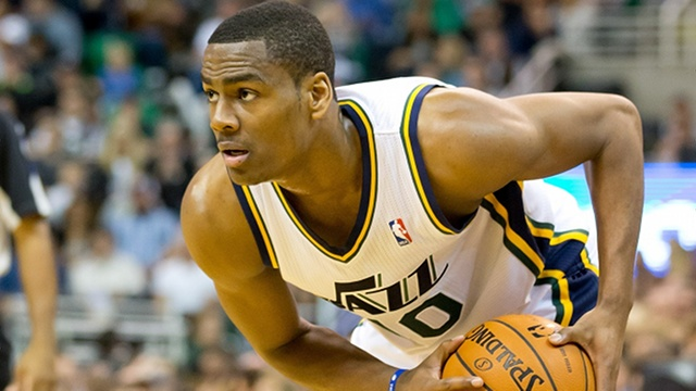 Alec Burks has been one of the NBA's best sixth men early this season. (Russ Isabella-USA TODAY Sports)