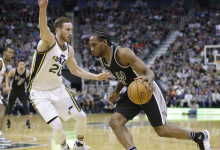 Jazz's 3-point shooting ice cold in loss to Spurs