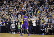 Kobe Bids Adieu to SLC in 48-point Loss to the Jazz