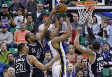 Jazz Lose Thriller to Unreal San Antonio Squad, 88-86
