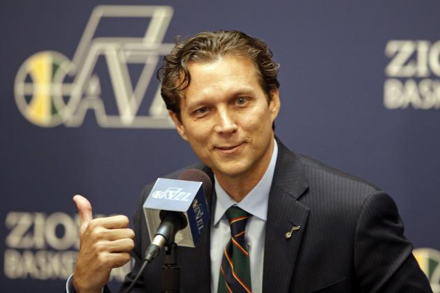 In a thumbs up move, the Jazz signed head coach Quin Snyder to a multi-year extension. (Rick Bowmer/Associated Press)