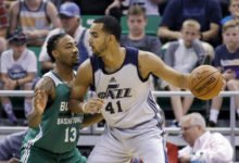 Despite Lyles' 26, Jazz Summer Squad Loses Close One to Celtics