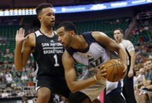Jazz Summer League Squad Falls to Spurs' Anderson & Co., 90-69