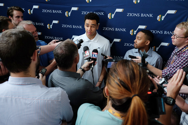utahjazz.com (Photo by Melissa Majchrzak/NBAE)
