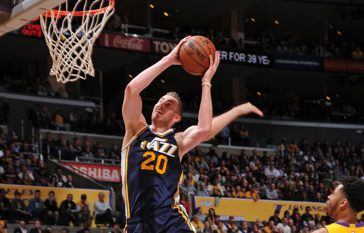 Will Hayward soar to his first ASG appearance? (utahjazz.com/Andrew D. Bernstein)