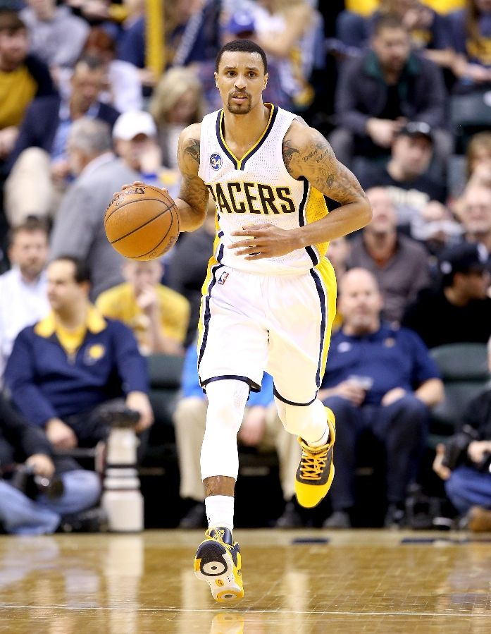 George Hill Already Dishing Assists |  Salt City Hoops