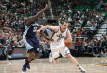 Injured Jazz Lose To Grizzlies; 96-102