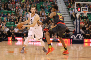 Salt City Seven: Jazz Streaking, Hayward Scoring, Exum Sitting