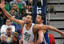 Depleted Jazz Fight Hard But Fall To Warriors; 106-99